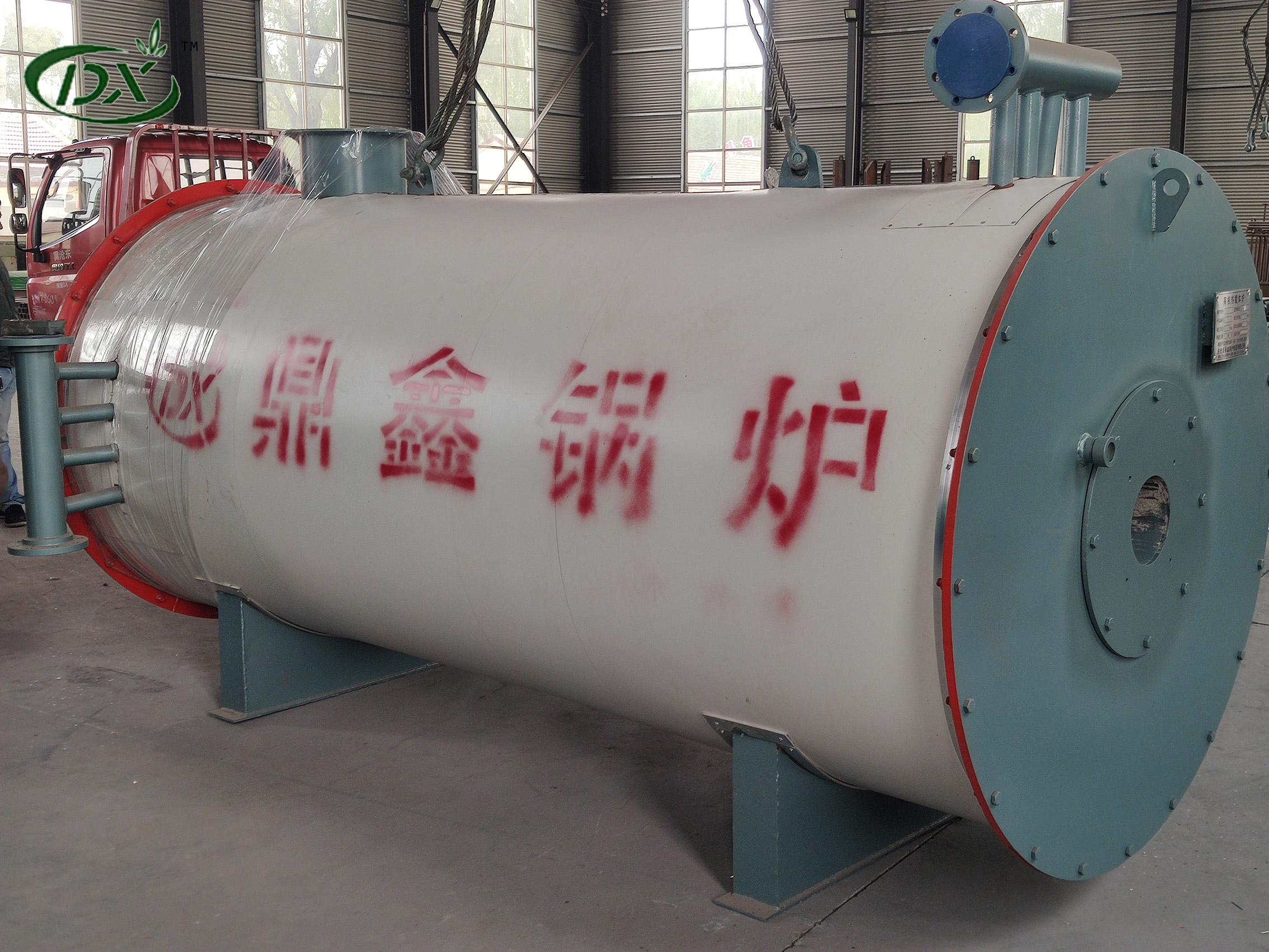 YQW卧式燃油气导热油炉